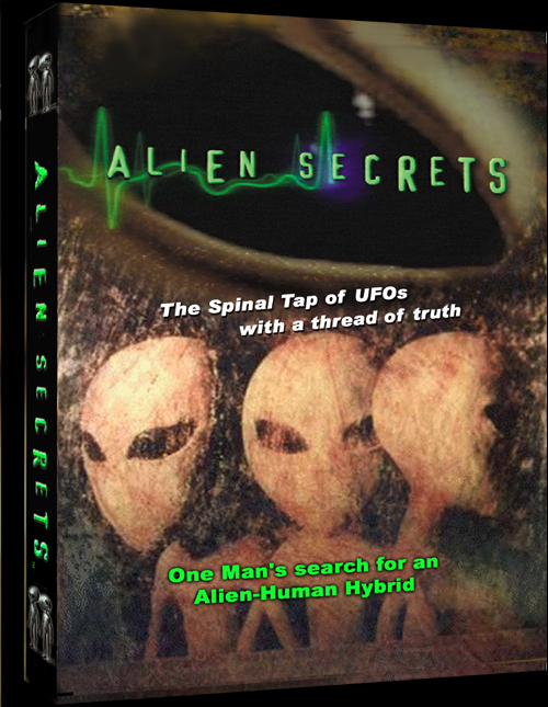 Alien Secrets DVD